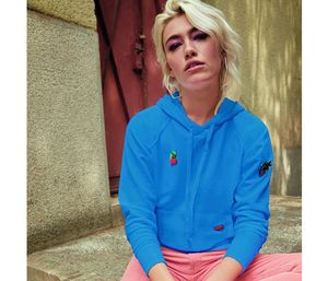 FRUIT OF THE LOOM SC363 - Lady-Fit Lichtgewicht Sweater met Capuchon