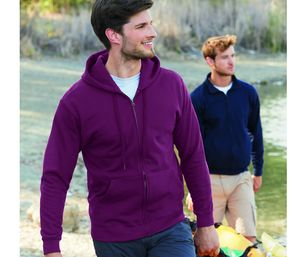 Fruit of the Loom SC374 - Hooded Sweat Jacket (62-062-0)