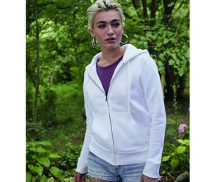 Fruit of the Loom SC375 - Premium 70/30 lady-fit hooded sweatshirt jacket