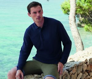 Fruit of the Loom SC384 - Premium Polo Long Sleeve