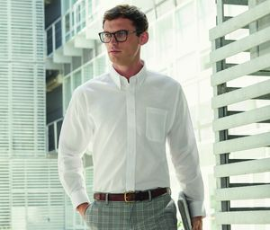 Fruit of the Loom SC400 - Camisa Oxford Manga Comprida