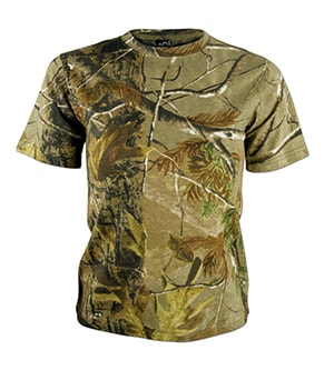 Code Five 2280 - REALTREE YOUTH CAMOUFLAGE SHORT SLEEVE T-SHIRT