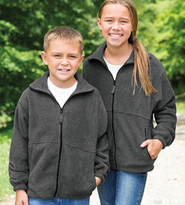 Featherlite 4061 - SIE YOUTH FULL ZIP FLEECE SIERRA PACIFIC YOUTH ANTI-PILL FULL-ZIP FLEECE