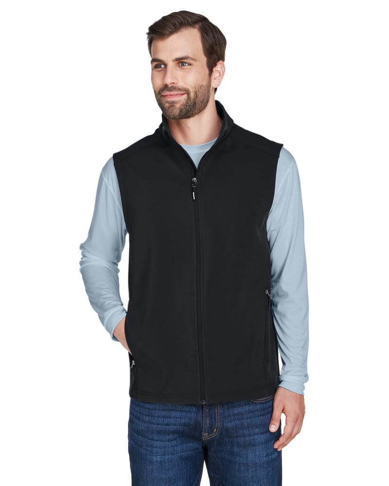 Ash CityCore 365 CE701 - Men's Cruise Two-Layer Fleece Bonded Soft Shell Vest