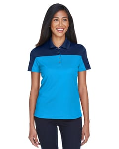 Ash CityCore 365 CE101W - Ladies Balance Colorblock Performance Piqué Polo
