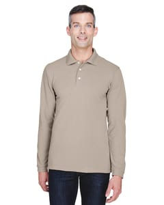 Harriton M265L - 5.6 oz./yd2 Easy Blend™ Long-Sleeve Polo