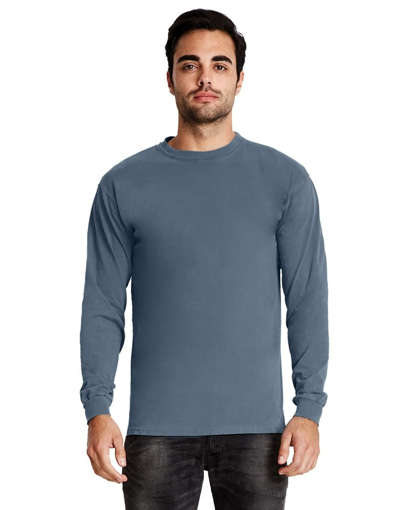 Next Level 7401 - Adult Inspired Dye Long Sleeve Crew