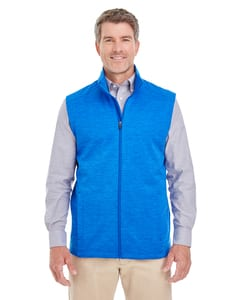 Devon & Jones DG797 - Mens Newbury Mélange Fleece Vest