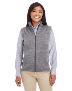 Devon & Jones DG797W - Ladies Newbury Mélange Fleece Vest