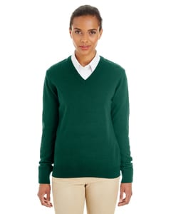 Harriton M420W - Ladies Pilbloc™ V-Neck Sweater
