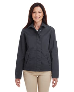 Harriton M705W - Ladies Auxiliary Canvas Work Jacket