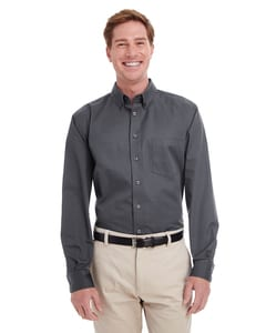 Harriton M581 - Mens Foundation 100% Cotton Long