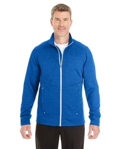 Ash City North End NE704 - Mens Amplify Melange Fleece Jacket