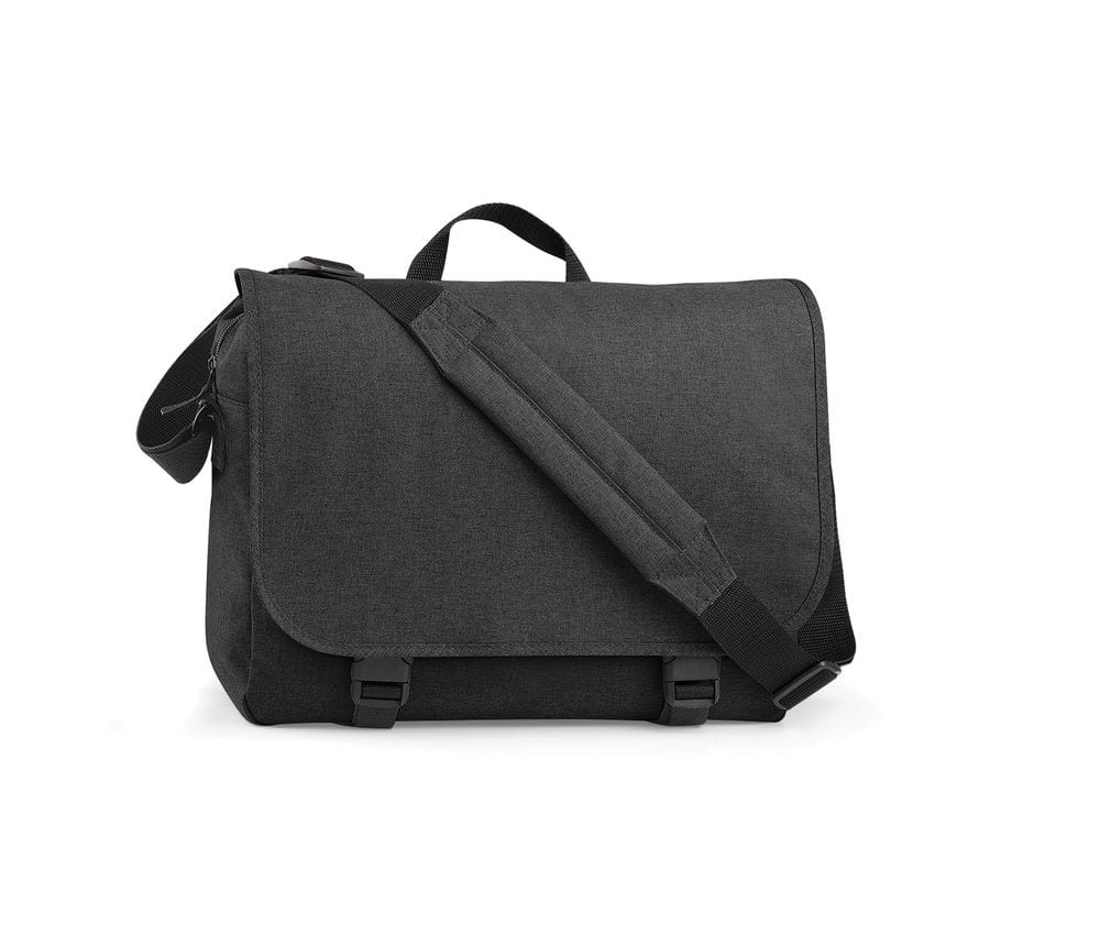 BagBase BG218 - TWO TONE DIGITAL MESSENGER