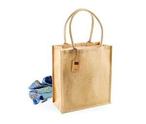 WESTFORD MILL WM409 - Sac shopping en toile de jute
