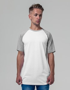 Build Your Brand BY007 - Raglan Contrast Tee