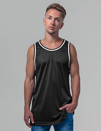 Build Your Brand BY009 - Mesh Tanktop