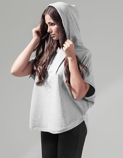 Build Your Brand BY034 - Ladies Sleeveless Hoody