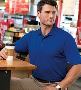 Featherlite 0100 - MENS VALUE POLO