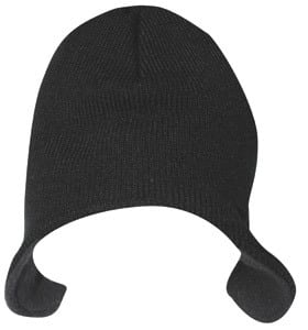 KC Caps KC1900 - FLAP BEANIE WITH FLEECE INSULATION