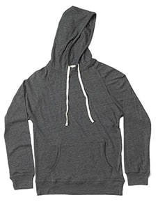 MV Sport 1261 - MENS HEATHER HOODED PULLOVER LONG SLEEVE TEE
