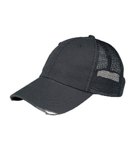MegaCap 6887 - ORGANIC WASHED COTTON MESH CAP