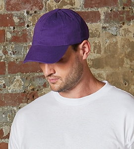 Bayside BA3630 - AMERICAN MADE WASHED CHINO TWILL CAP