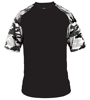 Badger BD4141 - CAMO SPORT ADULT TEE