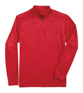 Badger BD4172 - TONAL BLEND QUARTER ZIP PULLOVER