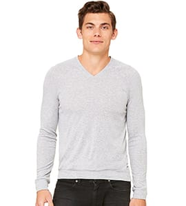 Bella+Canvas C3985 - UNISEX V-NECK LIGHTWEIGHT SWEATER