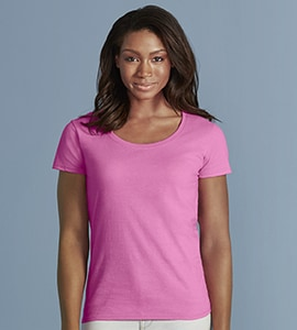 Gildan G64550L - SOFTSTYLE LADIES DEEP SCOOP TEE
