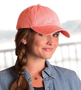Adams LO101 - LADIES OPTIMUM PIGMENT DYED CAP