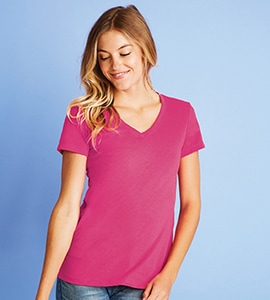 Next Level NL6480 - LADIES SUEDED V-NECK TEE