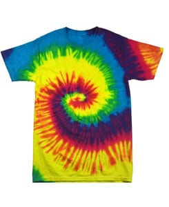 Colortone T348R - Adult Reactive Rainbow Tee