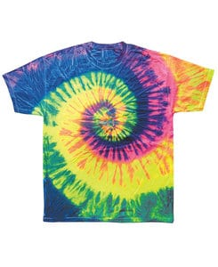 Colortone T355P - Adult Neon Rainbow Tee
