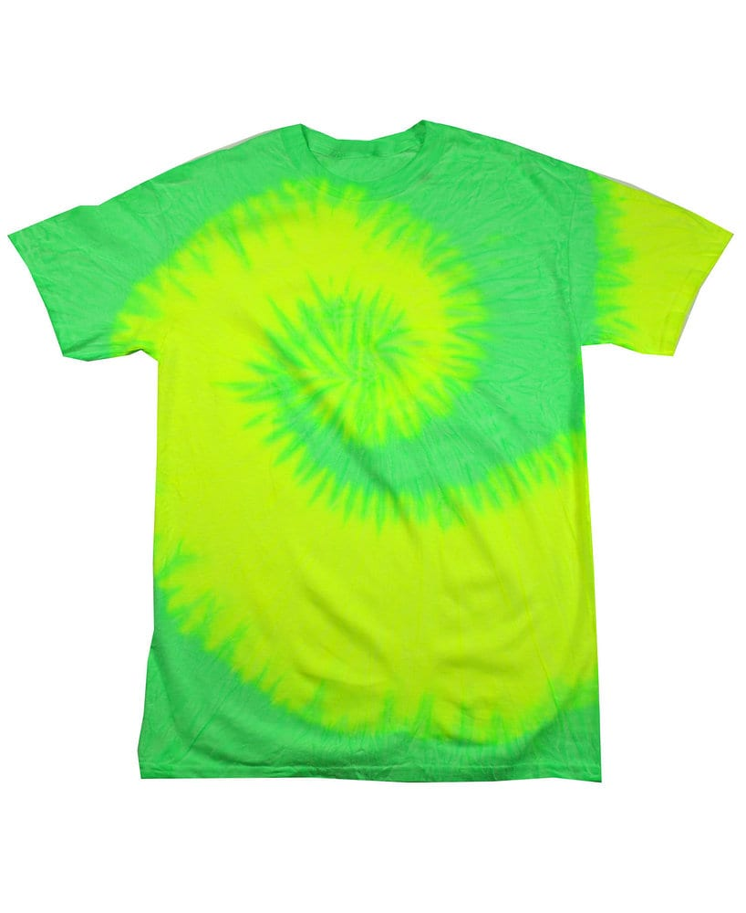 Colortone T381P - Adult Flo Yellow/Lime Tee