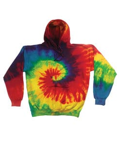 Colortone T937R - Youth Reactive Rainbow Pullover Hood