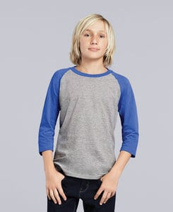 Gildan G5700B - Heavy Cotton Youth 3/4 Raglan Tee