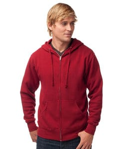 Independent Trading Co. AFX40Z - Adult Lightweight Fitted Zip Hooded Fleece