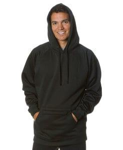 Independent Trading Co. EXP45P - Indpendent Mens Midweight Poly-Tech Raglan Hooded Pullover