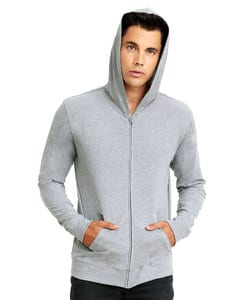 Next Level NL6491 - Unisex Sueded Zip Hoody