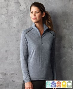 Paragon SM0161 - Ladies Performance 1/4 Zip Pullover