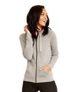 Next Level NL9603 - Womens PCH Raglan Zip Hood