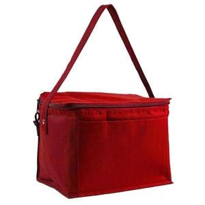 Q-Tees Q91216 - Polyester 6-Pack Cooler