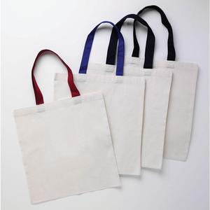 Q-Tees QTB6000 - Economical Tote Bag with Colored Handles