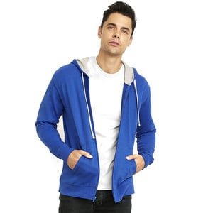 Next Level NL9601 - FRENCH TERRY ZIP HOODY