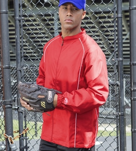 Rawlings RP9760 - ADULT FULL-ZIP POLYESTER DOBBY JACKET