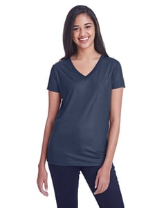Threadfast 240RV - Ladies Liquid Jersey V-Neck T-Shirt