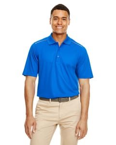 Ash City - Core 365 88181R - Mens Radiant Performance Piqué Polo with Reflective Piping