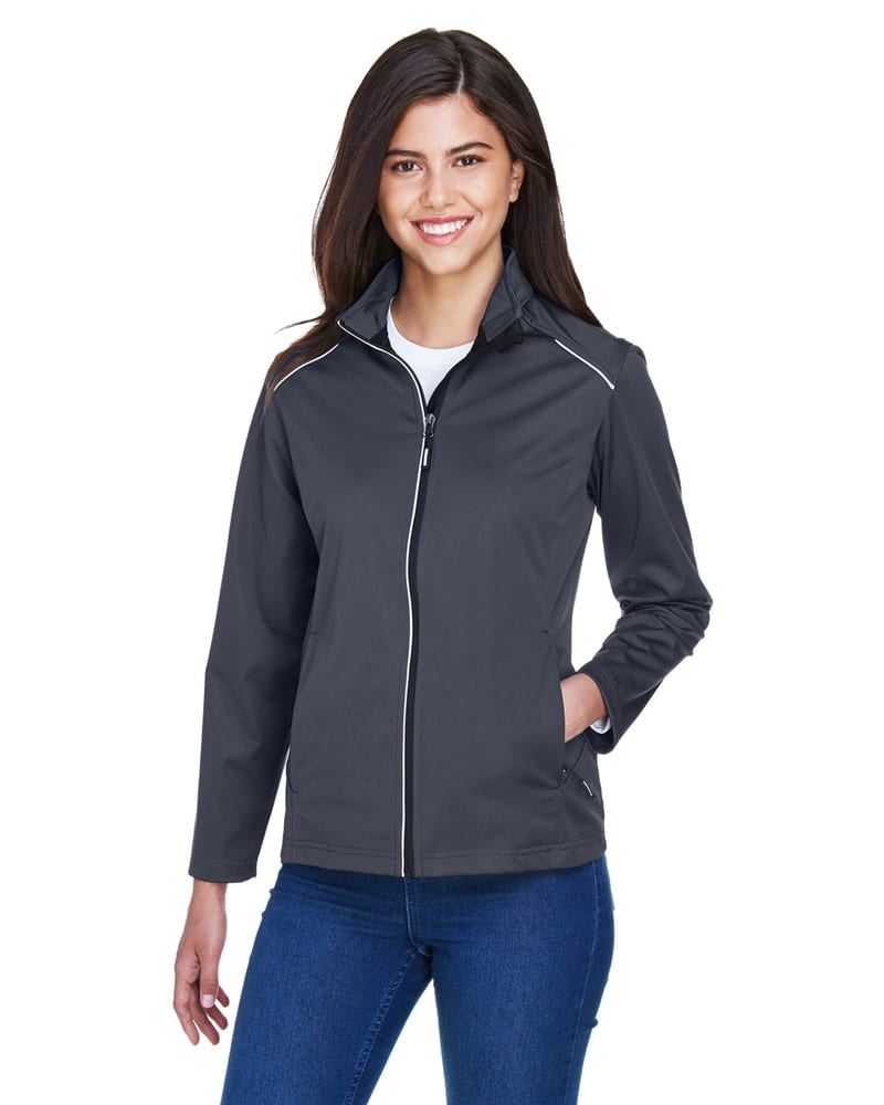 Core 365 CE708W - Ladies Techno Lite Three-Layer Knit Tech-Shell